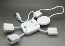 4 portos vicces emberke formájú USB elosztó - Ezzel megoldódik a port hiányod!