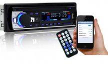 Távirányítós Bluetooth Autórádió fejegység és Telefon kihangosító - A Te autódból sem hiányozhat!