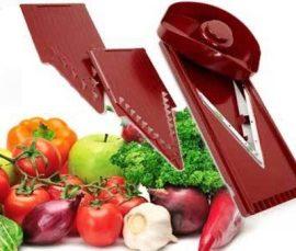 Zöldség, Gyümölcs szeletelő V gyalu - Könnyed precizitás a konyhában!