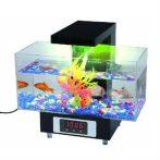 USB-s asztali akvárium - Hangulatvilágítással!