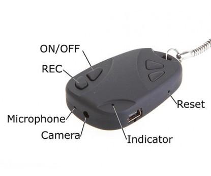 Kulcstartó kamera - HD felbontású képrögzítés!