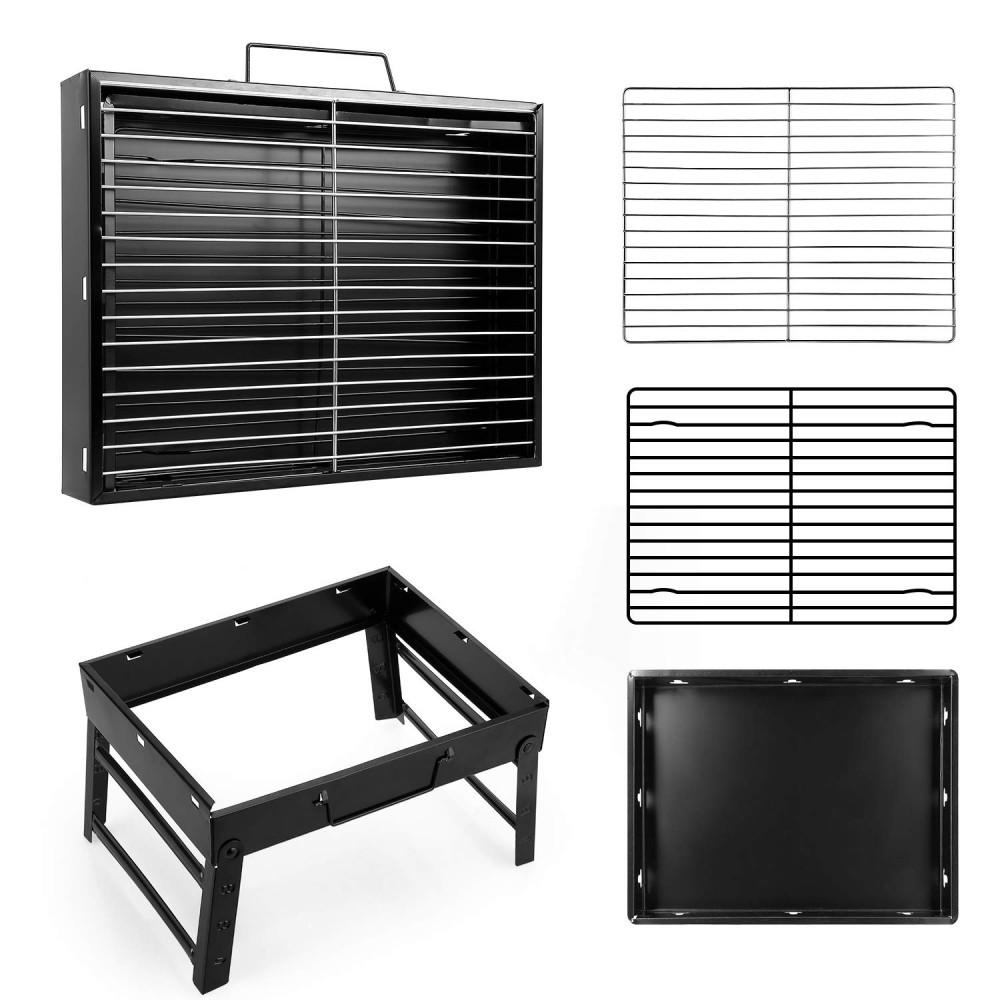 Hordozható faszenes Grillsütő - Használjátok szinte bárhol!
