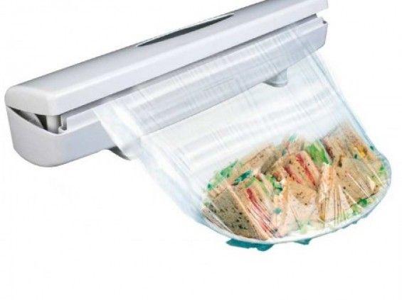 Csomagolószer adagoló és vágó - Az étel gyorsabban csomagolható!