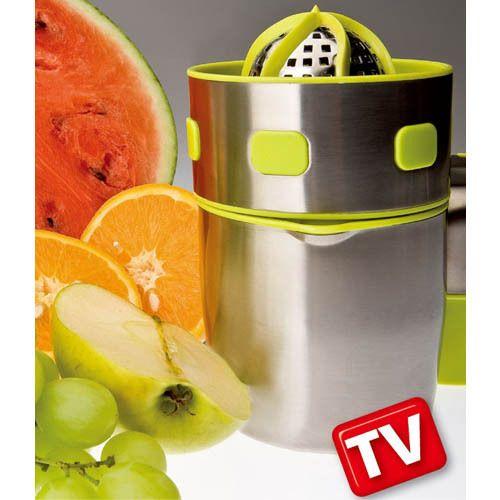 PRO-V JUICER Gyümölcsfacsaró - 100%-os gyümölcslé egyszerűen, könnyen és gyorsan!