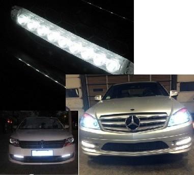 8 LED-es Nappali autófény - Légy mindig jól látható, kerüld el a baleseteket!