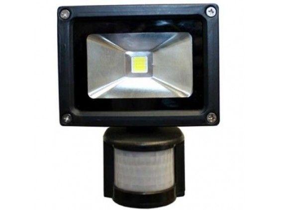 MOZGÁSÉRZÉKELŐS LED REFLEKTOR 10W-os - 90%-kal kevesebb energiafogyasztás!