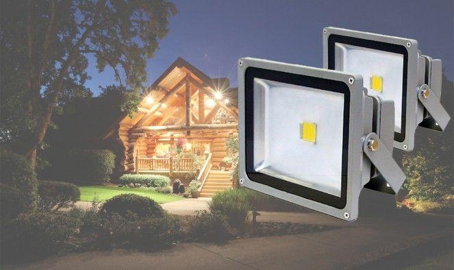 20W LED REFLEKTOR - Nagyítóoptikával!