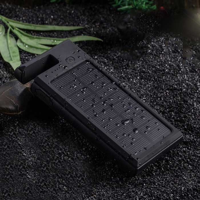 Prémium Napelemes Powerbank telefon vésztöltő - 20000mAh, csepp, por és ütésálló!
