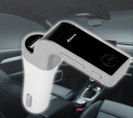 Szivargyújtós 4 az 1-ben Bluetooth FM Transmitter Autódba - Zenéhez, telefonhoz!
