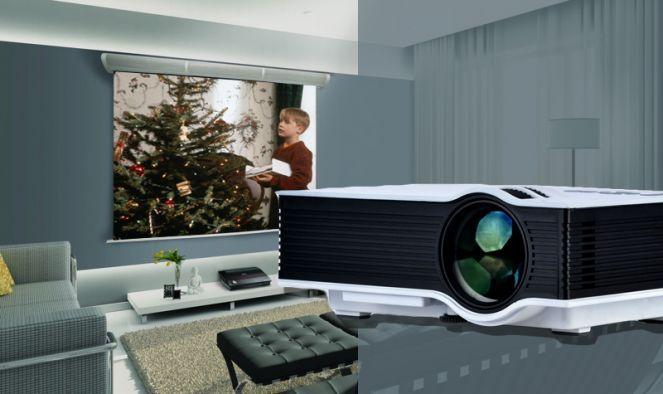 Unic LED projektor - Akár 130'' vetített képméret!