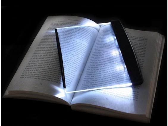 Megvilágító LED panel - Esti olvasáshoz!