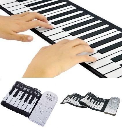 Összecsukható elektromos, digitális zongora - Minden gyermek álma!