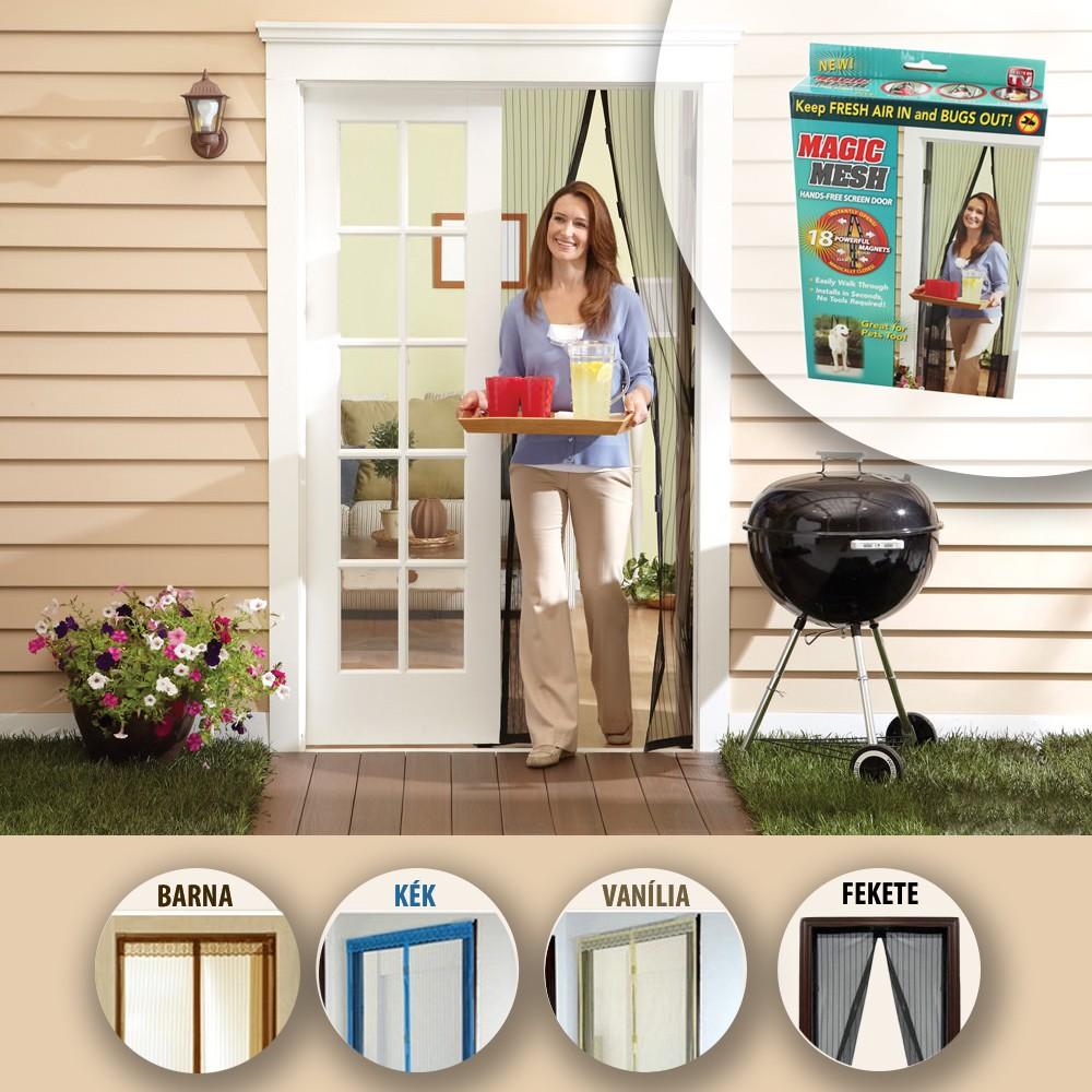 MAGIC MESH Mágneses szúnyogháló Bármilyen ajtóra - Nincs több szúnyog a lakásban!