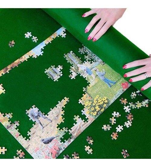 Puzzle Szőnyeg - Ajándék 1000db-os Csónakot ábrázoló kirakóssal!