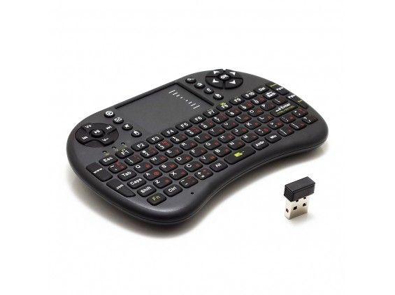 Mini Bluetooth billentyűzet és érintőpad - Vezeték nélküli kapcsolat!
