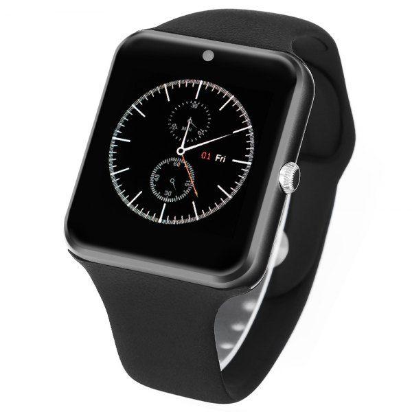 Exkluzív Prémium Android okosóra - Kamerával + SIM kártya hellyel fekete színben!