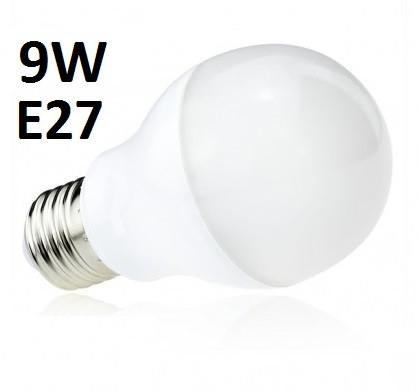 9W Energiatakarékos LED izzó választható foglalattal és színhőmérséklettel - 18 LED diódával a búra alatt!