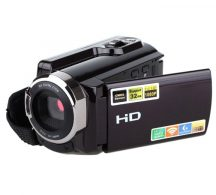 Hordozható 16MP-es HD Videókamera Magyar Menüvel - 16x digitális zoom, HDV-5053STR!