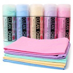 2 CSOMAG SZINTETIKUS SZARVASBŐR KENDŐ - Autóápoláshoz, ablaktisztításhoz, kényes felület tisztításához!