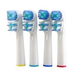8 db Dual Head fogkefe fej Oral-B elektromos fogkeféhez - Most hihetetlen áron!