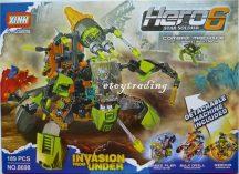 GUDI XINH Hero6 építő készlet - LEGO helyett Fiúknak! 8698