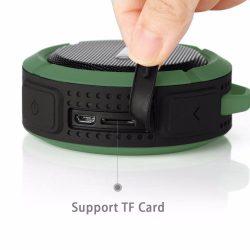 Vízálló MP3 lejátszó, Bluetooth hangszóró és telefon kihangosító egyben - SD kártya foglalattal!