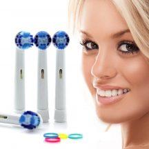 4 db Fogkefe fej Oral-B elektromos fogkeféhez - Most hihetetlen áron!