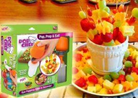Pop chef vákuumos gyümölcsformázó készlet – Kreativitás a konyhában!