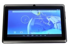 "7"" Android Tablet - Quad Core 512 Mb, 4GB tárhely, Wifi"