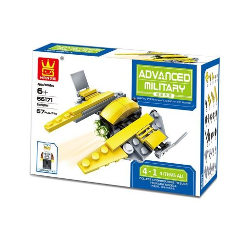Star Wars űrjármű építő készlet - LEGO helyett Fiúknak! 56171