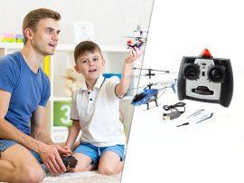 Távirányítós helikopter - Nem csak gyerekeknek!