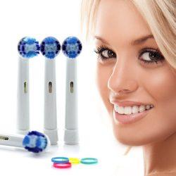 8 db Fogkefe fej Oral-B elektromos fogkeféhez - Most hihetetlen áron!