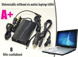 Univerzális laptop töltő - Autós szivargyújtó csatlakozóval!