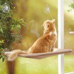Ablakra rögzíthető macskaágy - Cicád imádni fogja!