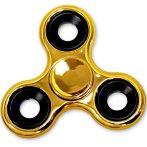 Arany színű Fidget Spinner Pörgettyű - Fémes hatású!
