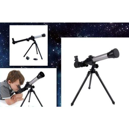 Csillagászati teleszkóp gyermekeknek - 3 féle cserélhető lencsével és állvánnyal!