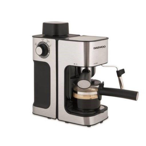 DAEWOO Kávéfőző, tejhabosító funkcióval - 2 év DAEWOO Garanciával!