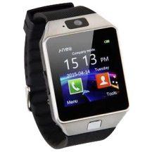 MAGYAR MENÜS Android Okosóra kamerával és SIM kártya hellyel, Ezüst - Használhatod telefonként is!