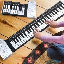 Feltekerhető zongora szett gyerekeknek - Fejleszti gyermeked zenei képességét!