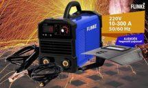 Bivalyerős Flinke Inverteres Hegesztőgép 300A - Digitális kijelzővel +AJÁNDÉK Pajzzsal, Most BOMBA Áron!