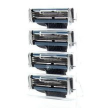 4 db Gillette Mach 3 kompatibilis utángyártott borotvafej - Gyengéden siklik a bőrön!