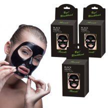 Iszapos arcmaszk csomag, 10db - Mitesszer eltávolító, lehúzható arcmaszk!