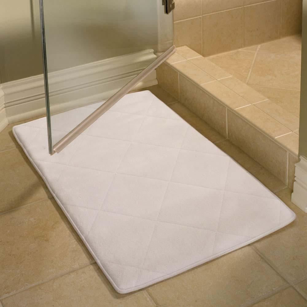 2 db-os, Memóriahabos fürdőszoba szőnyeg szett - Nagyon kényelmes ...