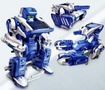 3in1 Napelemes játék robot