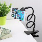 Felcsíptethető univerzális asztali telefontartó - Harmadik kéz ami megtartja a mobilod!
