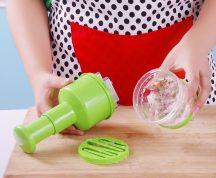 Hagyma és Zöldség aprító készülék