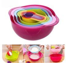 Műanyag kreativ edénykészlet - Alkoss könnyedén a konyhában!