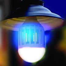 ROVARIRTÓ LÁMPA - Elektromos szúnyog és repülőrovar csapda +LED lámpa!