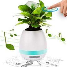 Zenélő virág - Virágcserép hangszóró, Bluetoothos!