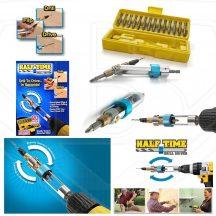 Gyors furófej cserélő, fúrófejekkel - Bármely fúrógéppel működik!